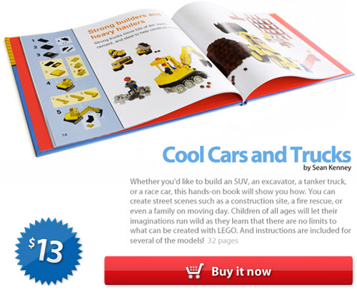 Cool Cars and Trucks: The LEGO book by Sean Kenney