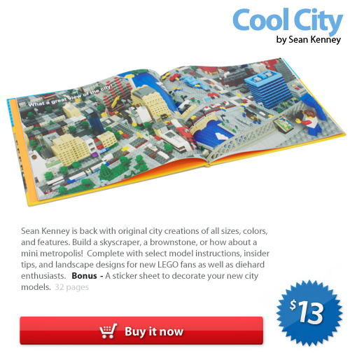 A LEGO idea book : Cool City, by Sean Kenney