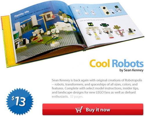 LEGO book : Cool Robots, by Sean Kenney