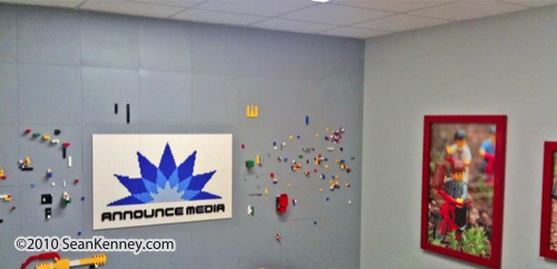LEGO Conference Room, logo, by Sean Kenney
