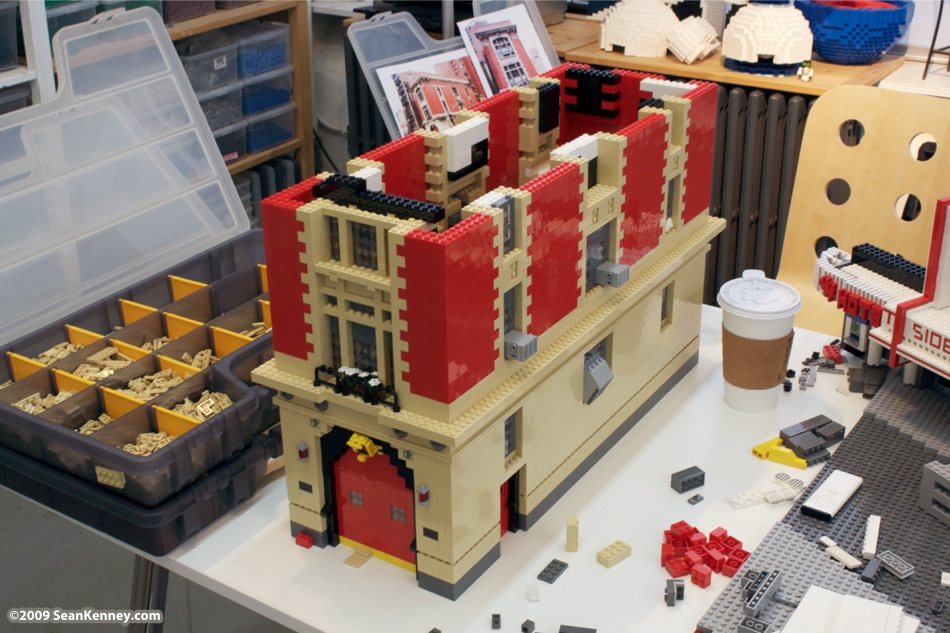 The Gallery For Gt Lego Ghostbusters Firehouse