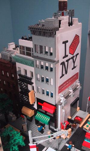 Sean Kenney Art With Lego Bricks Greenwich Village