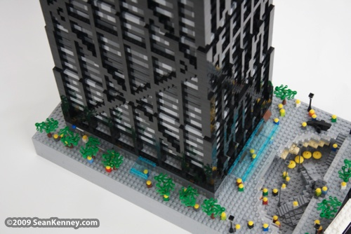 LEGO Hancock Center by Sean Kenney