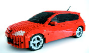 Your car in LEGO bricks