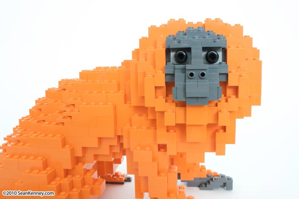 LEGO monkey - Sean Kenney