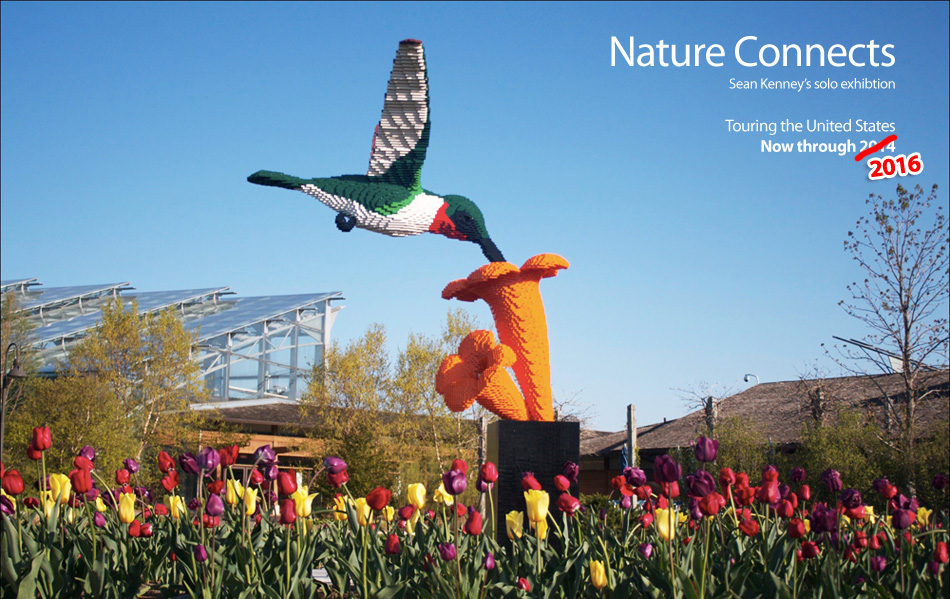 Nature Connects: The award-winning, record-breaking exhibition.  Now on tour across the United States