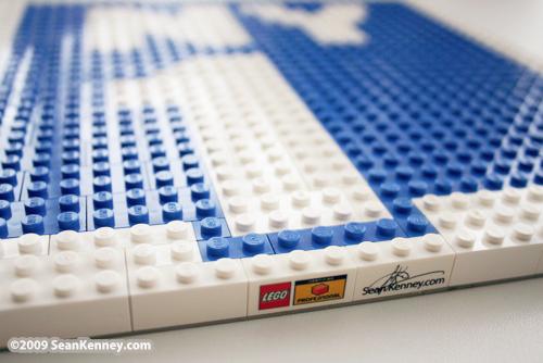 NY1 LEGO logo by Sean Kenney