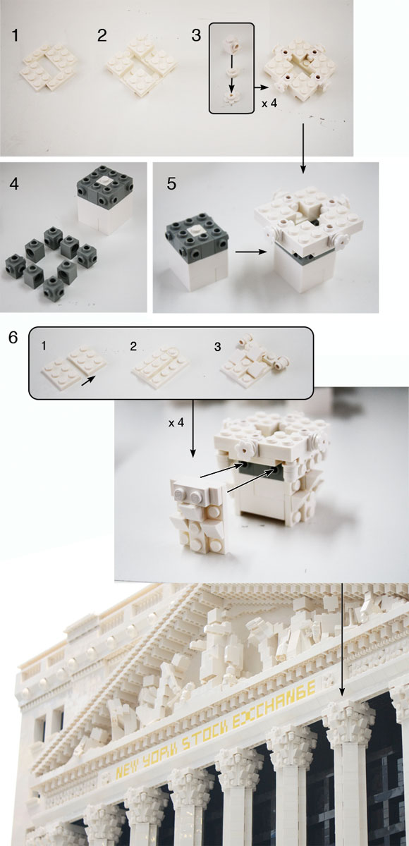 Build your own capital with LEGO bricks