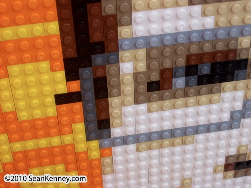 LEGO artist Sean Kenney - Portraiture