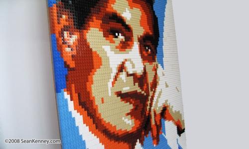 LEGO portrait of Prefeito Paulina, Brazil
