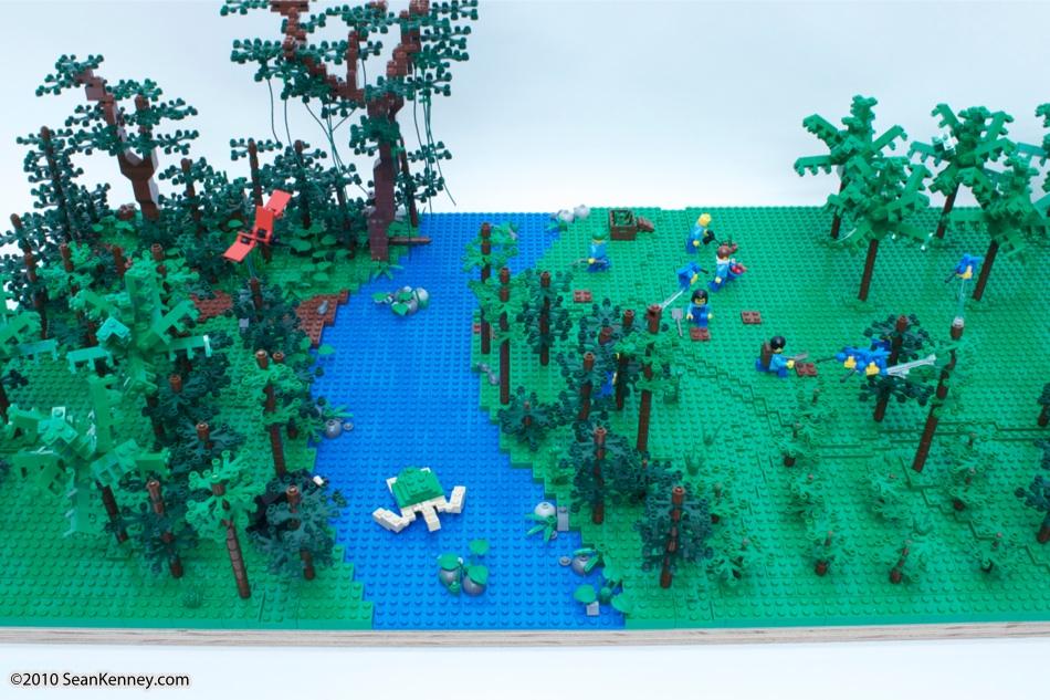 how to make deforestation model