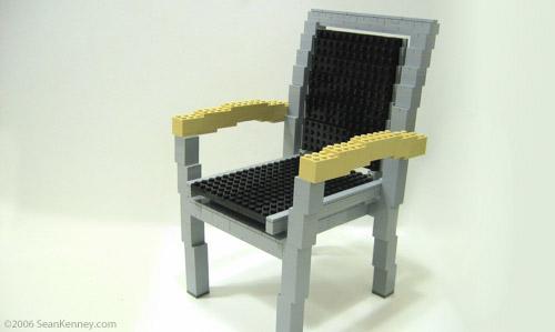 Как из лего сделать кресло