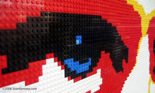 Self portrait with legos