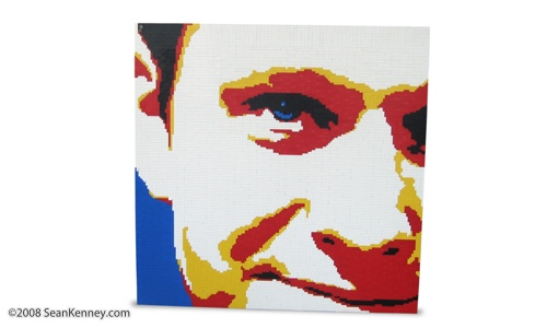 LEGO portrait artist