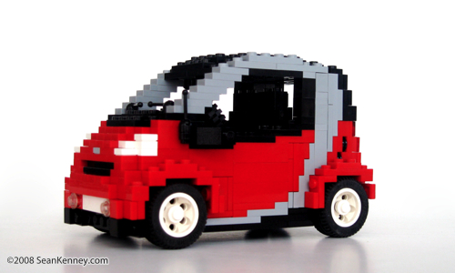 LEGO Smart ForTwo by Sean Kenney