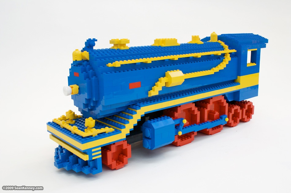 Lego Steam Engine Book Covers