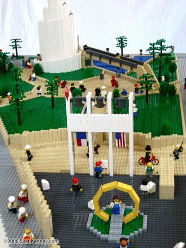 Thanksgiving Square, LEGO model