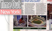 LEGO Yankee Stadium in Time Out NY