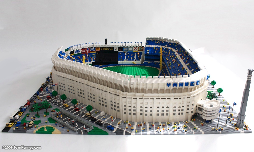 Sean Kenney - Art with LEGO bricks : Yankee Stadium Soccer Manager