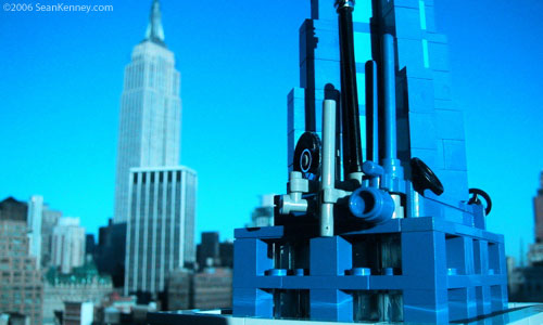 LEGO Empire State Building model