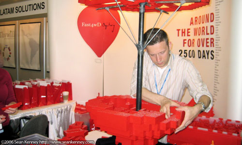 At a June 2006 trade show in