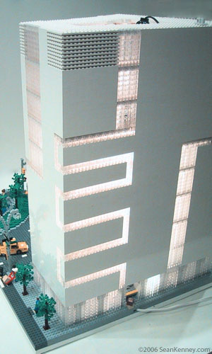 LEGO, 2 Columbus Circle, Museum of Arts & Design, 2CC