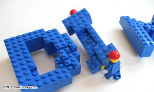LEGO photoshoot