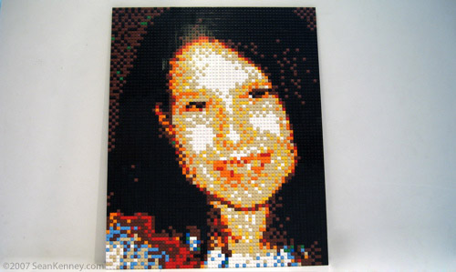 LEGO childrens portraits