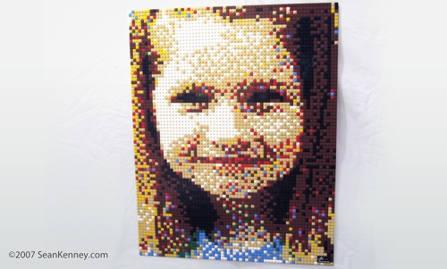 LEGO children's portrait
