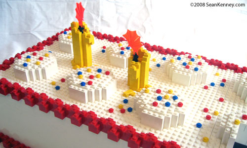 Birthday Cake, Happy Birthday LEGO brick!