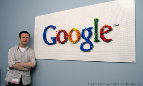 Sean Kenney Art With Lego Bricks Google Logo
