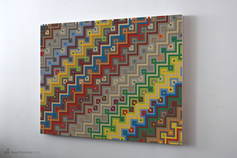 Great LEGO Mural : Sean Kenney Design : Original Artwork With LEGO Bricks