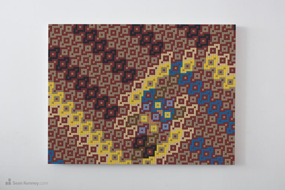 Sean Kenney - Art with LEGO bricks : Wall art
